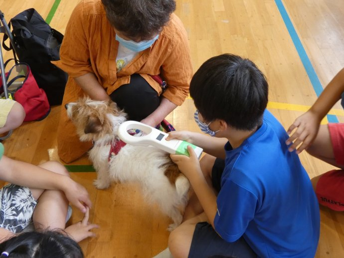 動物愛護教室 第2指導班